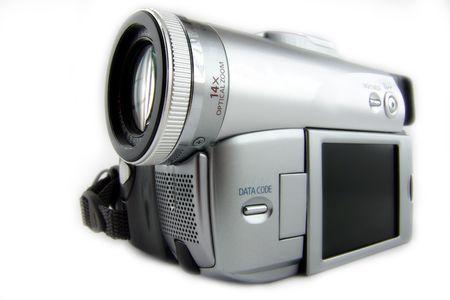 Digital semi-professional miniDV camera