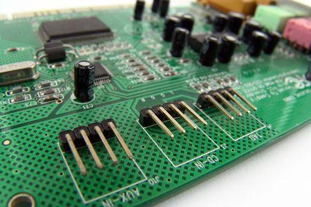 ports on PC soundcard photo