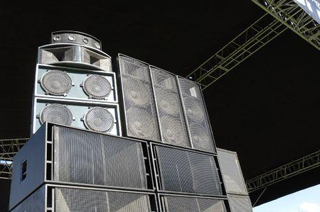 dolby: Black speakers on the scene