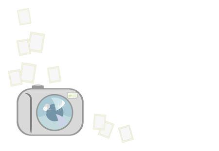 vector image of easy digital camera Vector