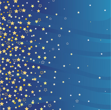 Beautiful star background. Ideally for use in your design. Stock Vector - 866571