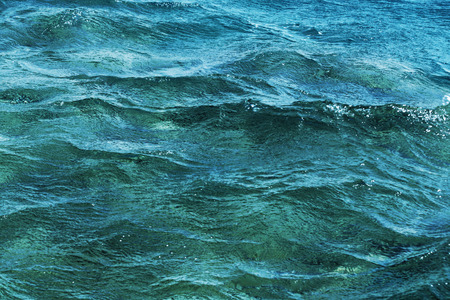 Background of a surface of the sea. Beautiful colour photo