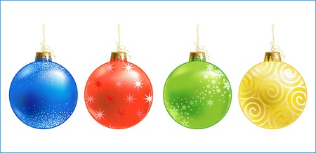 Christmas ball  christmas ornament  vector Vector