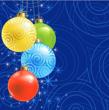 Christmas ball /  background / vector Stock Vector - 1599547