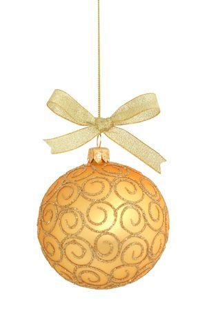 Christmas ball isolated  Stock Photo