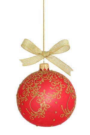 Christmas ball isolated photo