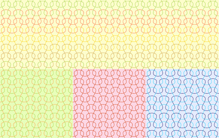 retro seamless pattern  vector Vector