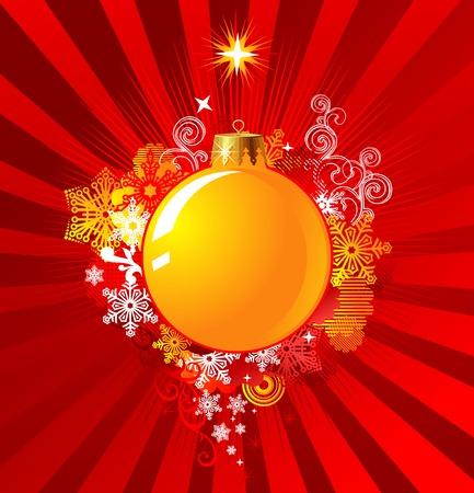 Christmas Decoration  Background Concept  vector  cmyk color Vector
