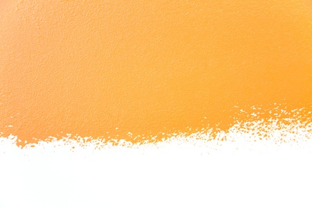 painted walls background  orange  real texture   isolated on white whith copy space photo