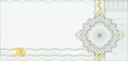 safety check: Fondo de garant�a de seguro para un certificado de regalo, promocional o de los elementos de billetes est�n en capas para facilitar la edici�n