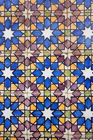 Vintage Tiles   Pattern   Architectural decoration   hand made photo