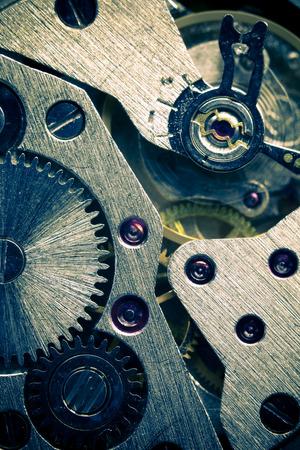 Macro Mechanical Gear Background   split toting photo
