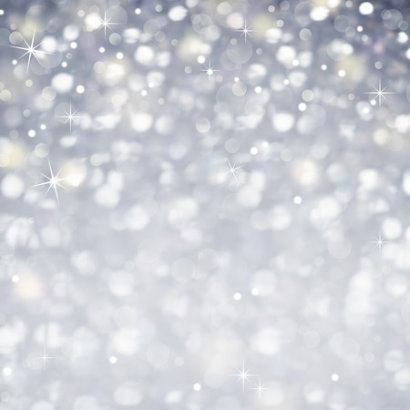 silver stars: Celebration Abstract Background -  Glittering magic light and Stars Sparcles