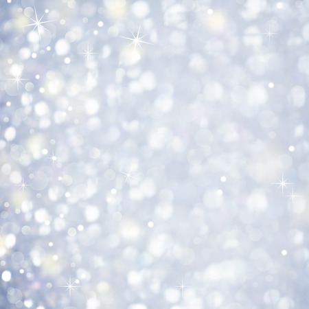 Snow Abstract Background - Glittering magic light and Stars Sparcles photo
