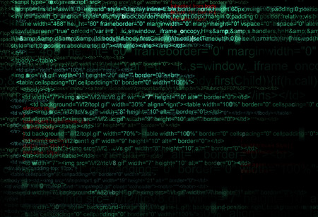 Concept Background of Web program code photo
