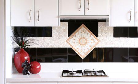 stark: Countertop in designer kitchen