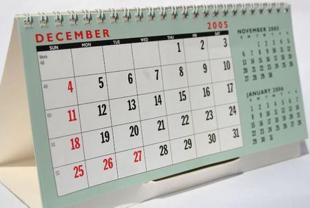 december calendar: Calendario dicembre