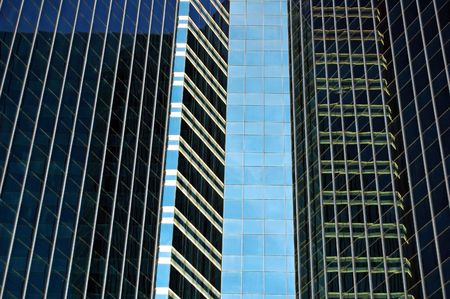 towerblock: Glass panelling on a Bangkok towerblock
