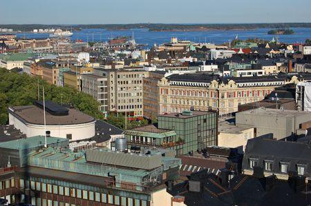 helsinki: Helsinki city view