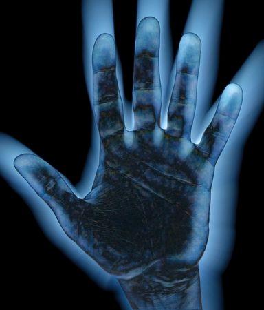 cease: Freddo e buio diffusione mano