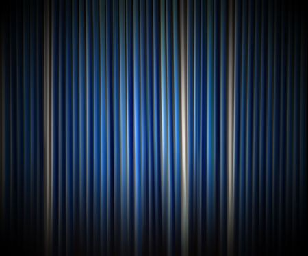 Background of vertical blue stripes photo