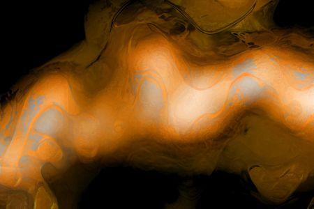 Abstract background of smokey orange wave form photo