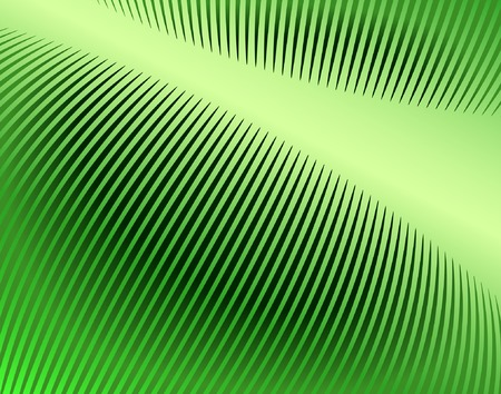 sharp curve: Abstract editable vector design of comb pattern