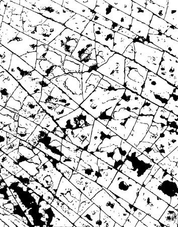 Background editable vector illustration of cracked grunge pattern Stock Vector - 2020102