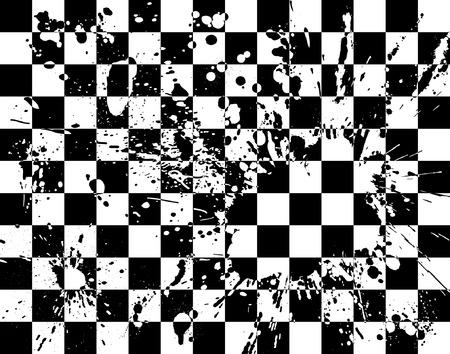 spillage: Resumen editable vector fondo con el grunge Vectores