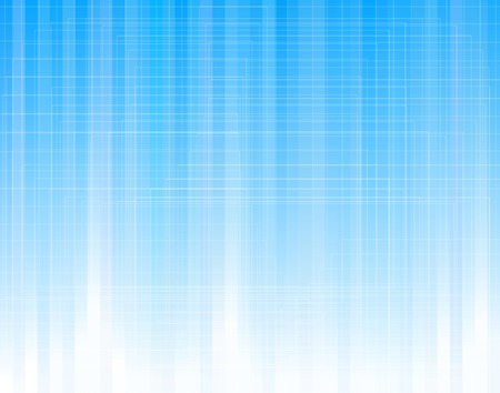 streaks: Abstract editable vector illustration of blue stripes with grid as separate object