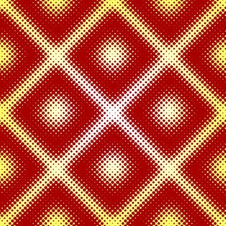Editable vector seamless tile of a halftone pattern Vector