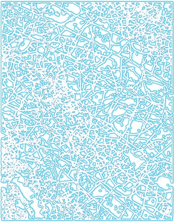 Background editable vector illustration of a blue frost pattern Stock Vector - 4867394