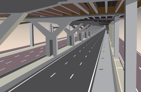 tollway:   car less highway lower level