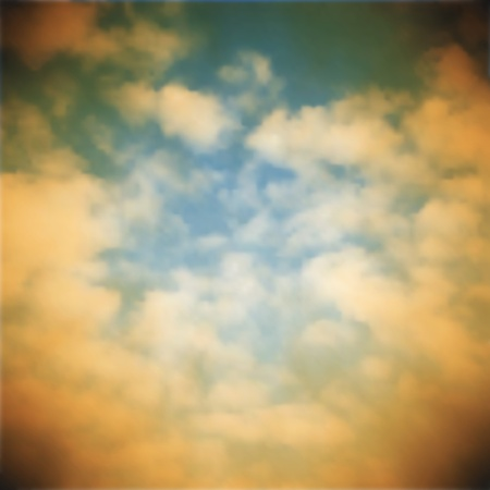 Editable vector illustration of an old sky photo made using a gradient mesh Stock Vector - 9855987