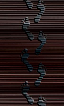 Editable vector illustration of a person Stock Vector - 12151445