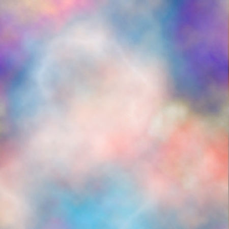 gradient mesh: Editable vector background of colorful smoke made using a gradient mesh