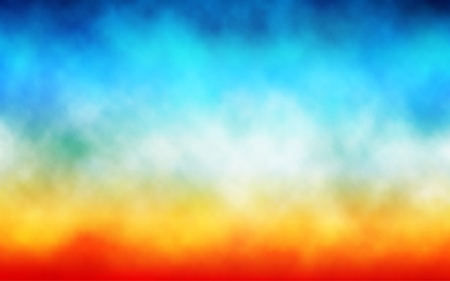 Editable vector illustration of clouds or mist over a colorful background, made with a gradient mesh Stock Vector - 18012649