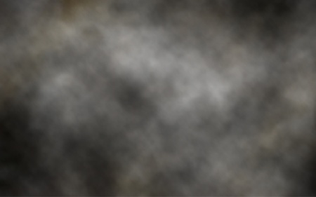 billowing: Editable vector illustration of thick billowing gray smoke made using a gradient mesh