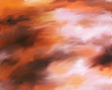 smeary: Abstract background painting of smeary oil paint Stock Photo