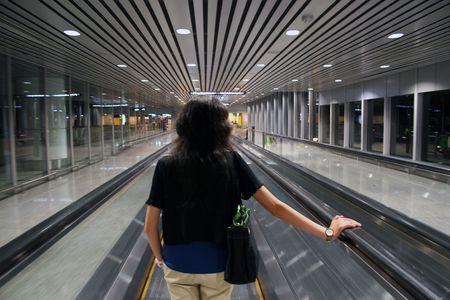 Travelling Through KLIA Stock Photo - 504777