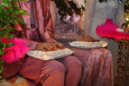 malaysia culture: Malay Wedding Ceremony held in Malaysia, which is known as Bersanding