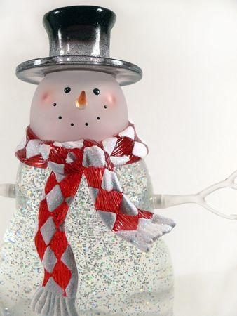 Glass Snowman 2 photo
