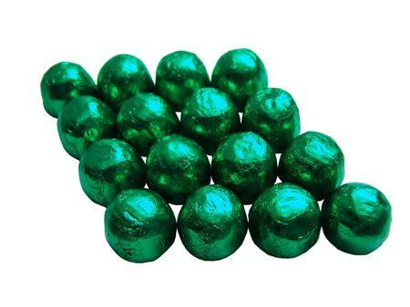 sweats: Sweets closeup, isolated Stock Photo
