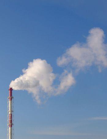 pharm: A heating centrale smoking tube Stock Photo