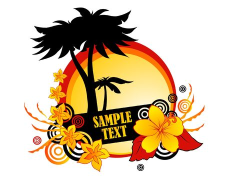 Sample text Stock Photo