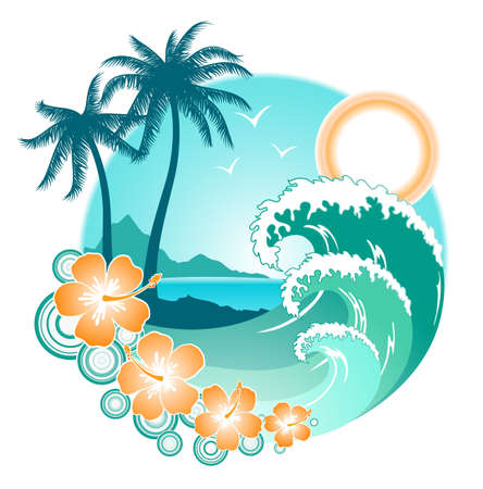 tropical backgrounds photo