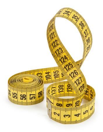 cintas metricas: cinta métrica aisladas sobre fondo blanco