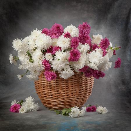 dalia: Otoño ramo de flores