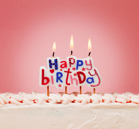 happy birth day: happy birthday candles