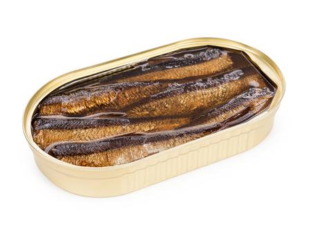 sardinas: Inaugurado lata de sardinas en aceite aislado.